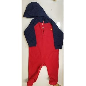 Ralph Lauren Baby Boy Jumpsuit 6M (worn once)